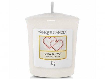 yankee candle snow in love votivni