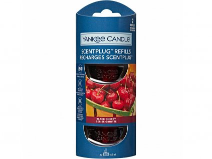 6713 yankee candle naplne do zasuvky black cherry 2 ks
