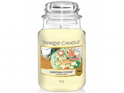 yankee candle christmas cookie velka
