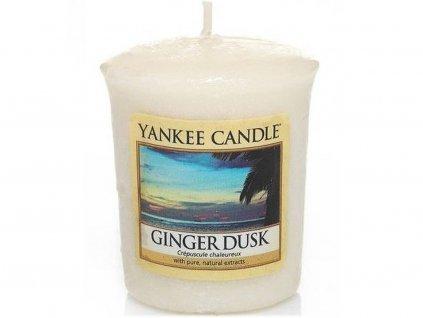 7166 yankee candle votivni svicka ginger dusk
