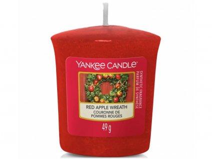 yankee candle red apple wreath votivni