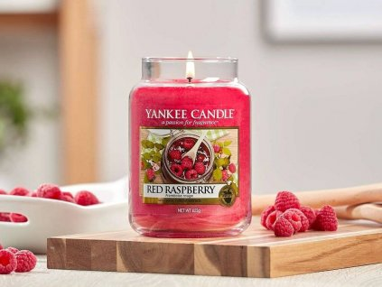 7367 yankee candle votivni svicka red raspberry
