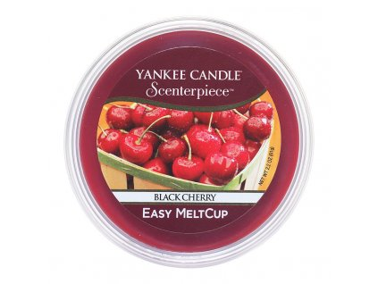 7637 yankee candle vosk black cherry easy meltcup