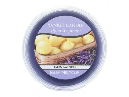 7661 yankee candle vosk lemon lavender easy meltcup
