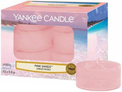 7802 yankee candle cajove svicky pink sands 12 ks