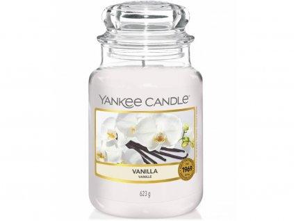 8120 yankee candle vonna svicka vanilla velka