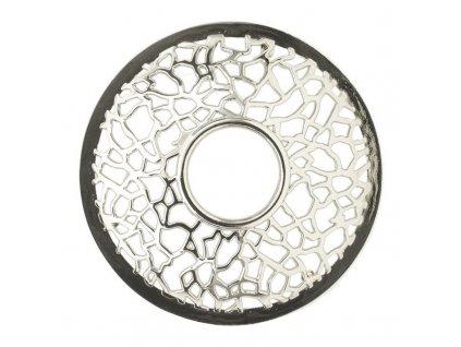 8288 yankee candle illuma lid ozdobny prstenec na svicku matrix brushed silver