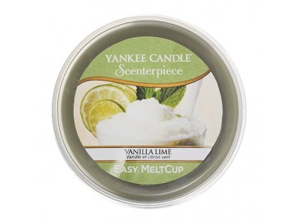 8321 yankee candle vosk vanilla lime easy meltcup