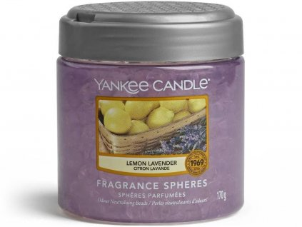8378 yankee candle spheres vonne perly lemon lavender