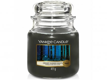 yankee candle dreamy summer nights stredni