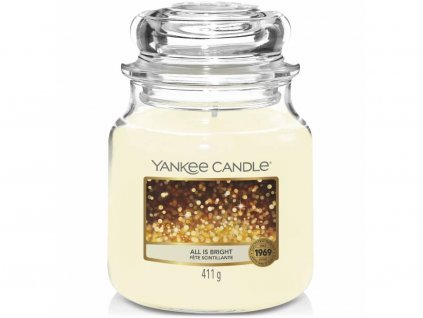 yankee candle all is bright stredni