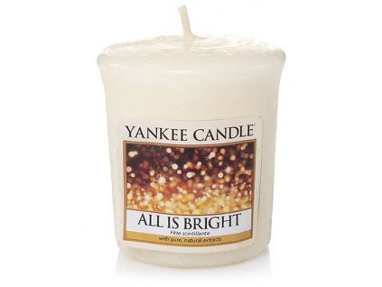 8693 yankee candle votivni svicka all is bright