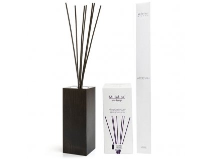 9404 1 millefiori milano air design aroma difuzer bez naplne square hnedy 250 ml