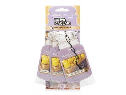 9461 yankee candle sada papirovych visacek lemon lavender 3 ks