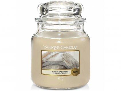 9518 yankee candle vonna svicka warm cashmere stredni