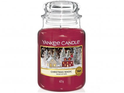 9617 yankee candle vonna svicka christmas magic velka