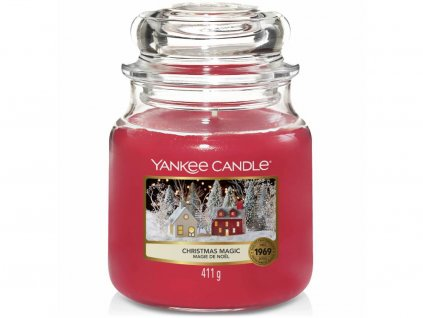 yankee candle christmas magic stredni