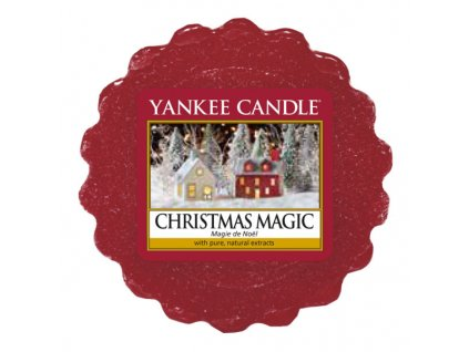 9629 yankee candle vonny vosk christmas magic