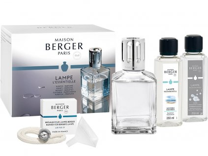 maison berger paris essential sada katalyticke lampy cube