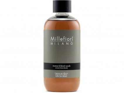 millefiori milano incense blond wood 250ml