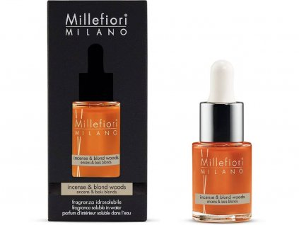9992 millefiori milano natural vonny olej kadidlo a drevo 15 ml