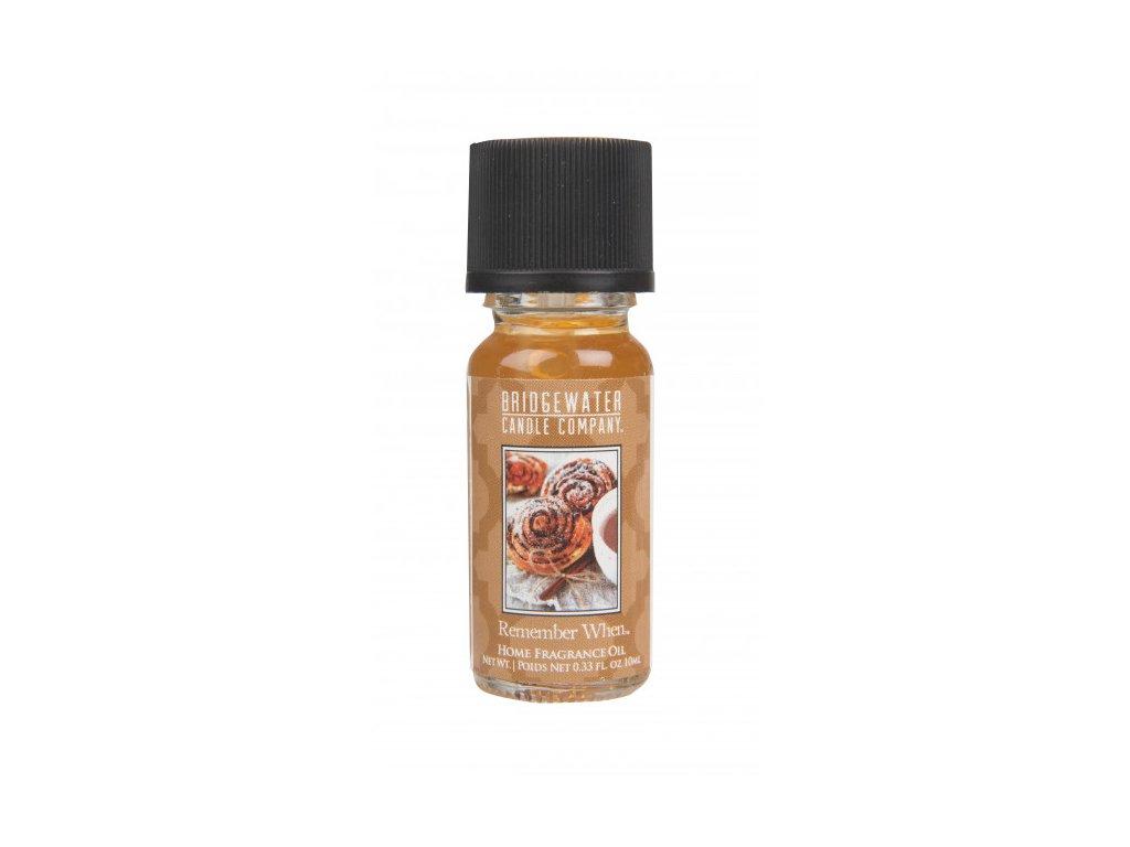 Vonný olej Bridgewater Candle Company Remember When Skořicový šnek 10 ml