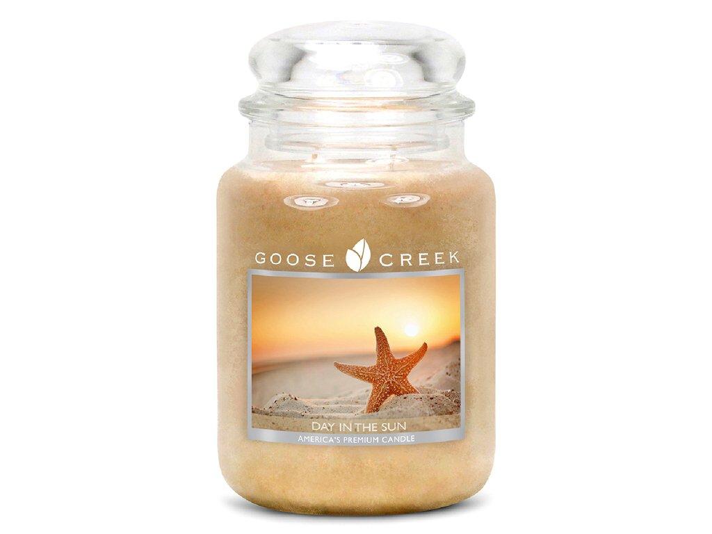 Svíčka Goose Creek Day In The Sun Slunečný Den 680g velká