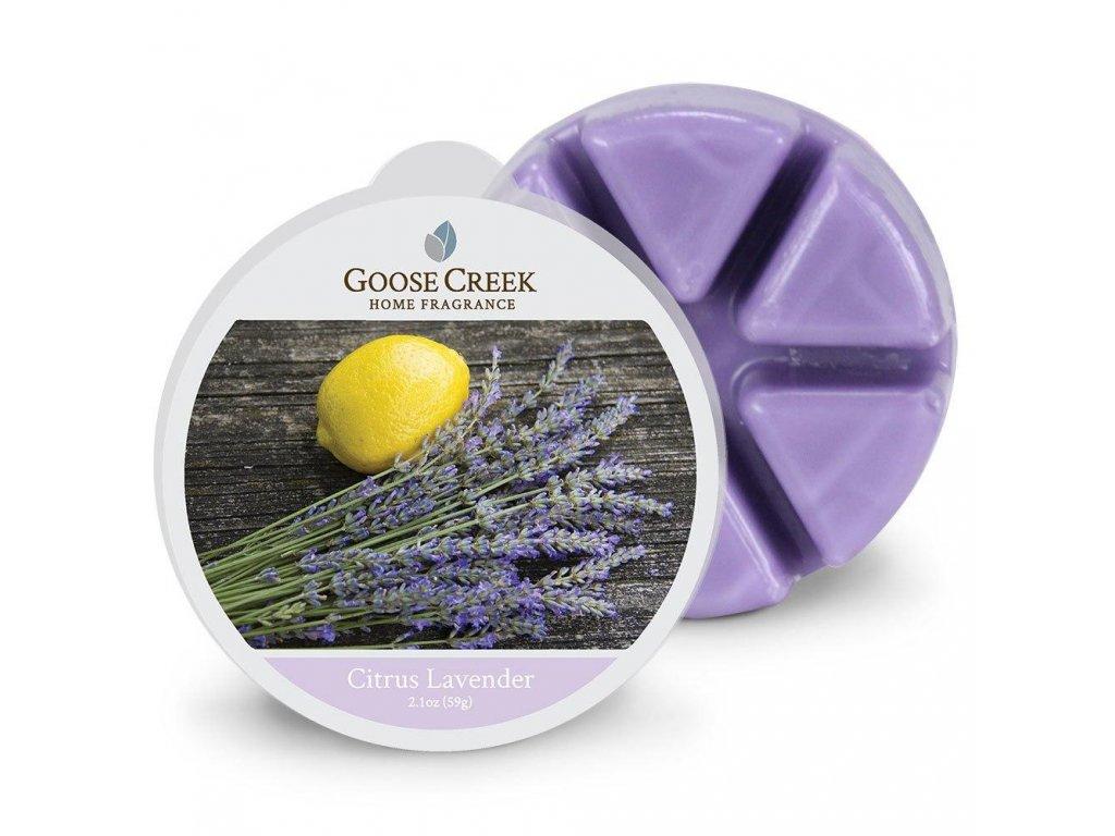 Vonný Vosk Goose Creek Citrus Lavender Citron a Levandule 59g