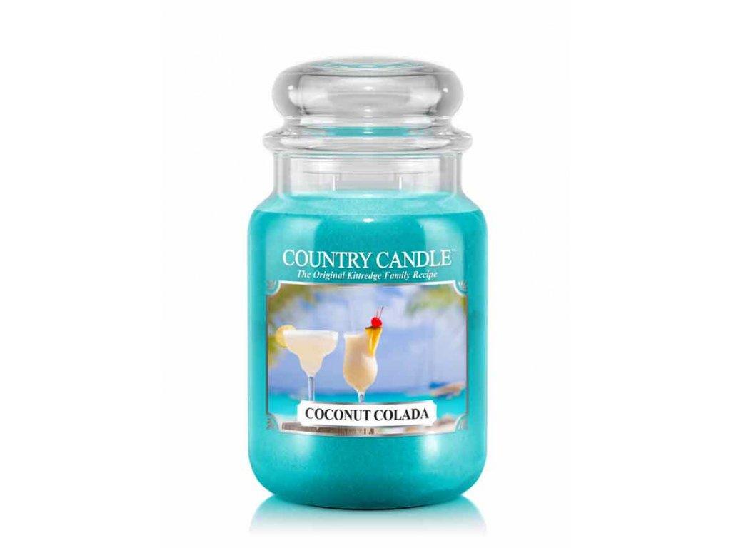 Svíčka Country Candle Coconut Colada - Kokosová Colada 652g velká