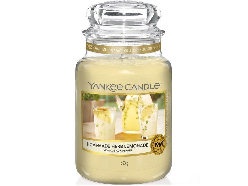 Svíčka Yankee Candle Homemade Herb Lemonade Domácí Bylinková Limonáda 623g velká