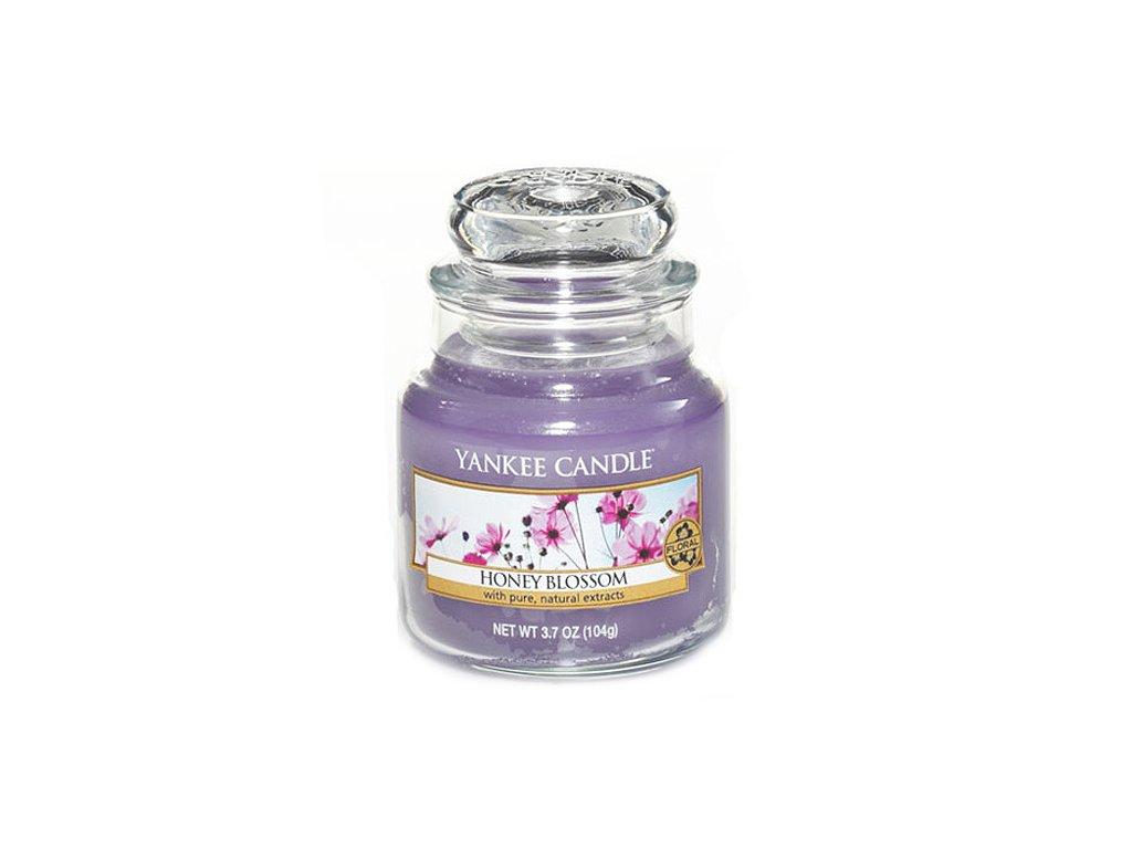 Svíčka Yankee Candle Honney Blossom Medový Kvítek 104g malá