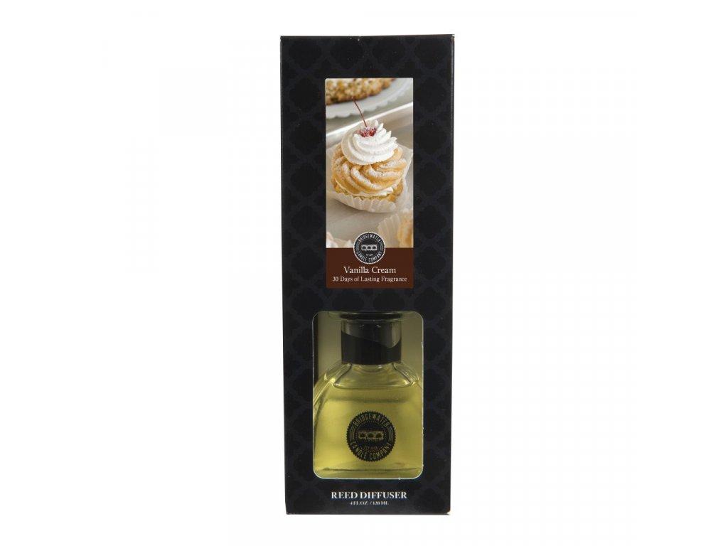 Aroma difuzér Bridgewater Candle Company Vanilla Cream Vanilkový krém 124 ml