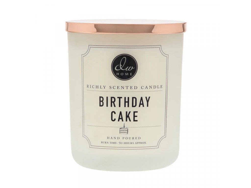 Svíčka DW Home Birthday Cake Vanilkový Dort 743,33g 26,2OZ