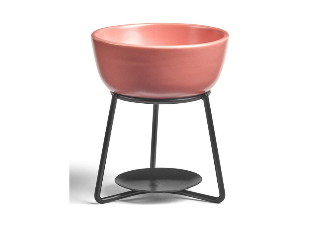 Aromalampa Yankee Candle Pebble Pink Icing Růžová