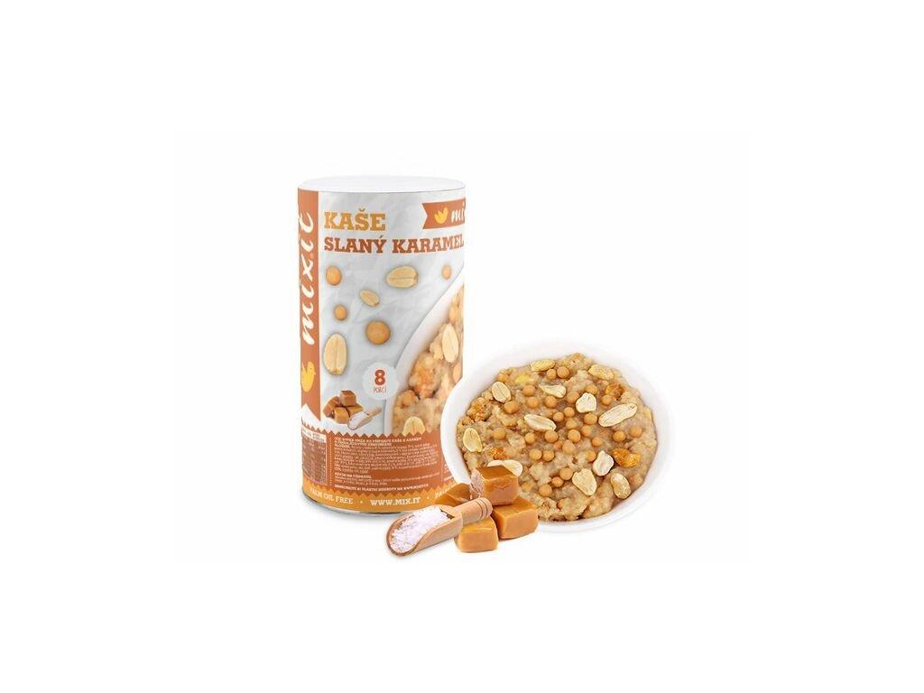 Rýžová instantní kaše arašídy a slaný karamel 500g Mixit
