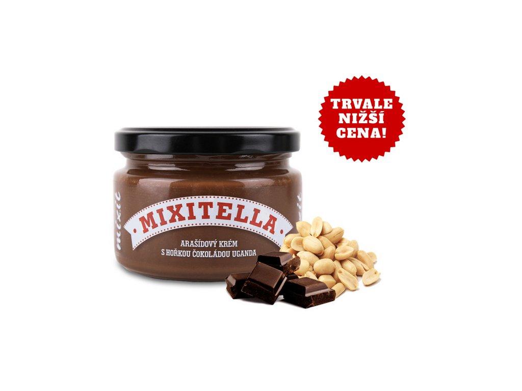 Mixitella arašídová pomazánka s hořkou čokoládou Uganda 250g Mixit