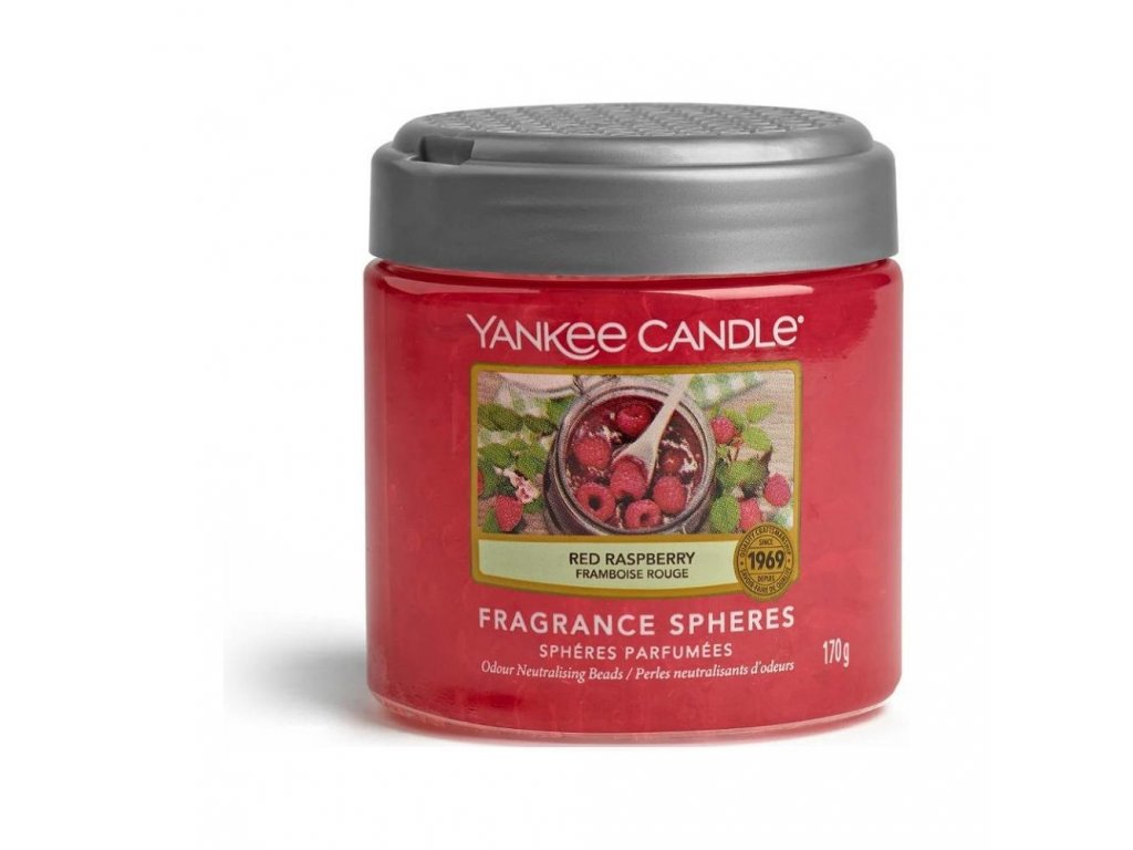 Yankee Candle Fragrance Spheres Red Raspberry Maliny 170g