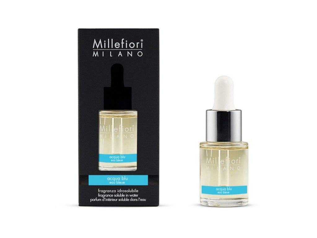Millefiori Milano Millefiori Natural vonný olej Acqua Blu Modrá Voda 15 ml
