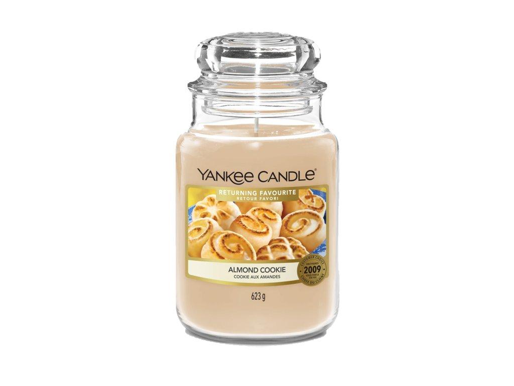 Svíčka Yankee Candle Almond Cookie Mandlové sušenky 623g velká