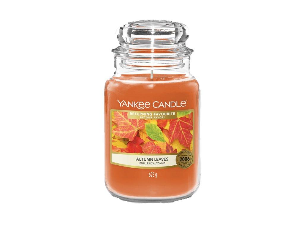 Svíčka Yankee Candle Autumn Leaves Podzimní Listy 623g velká