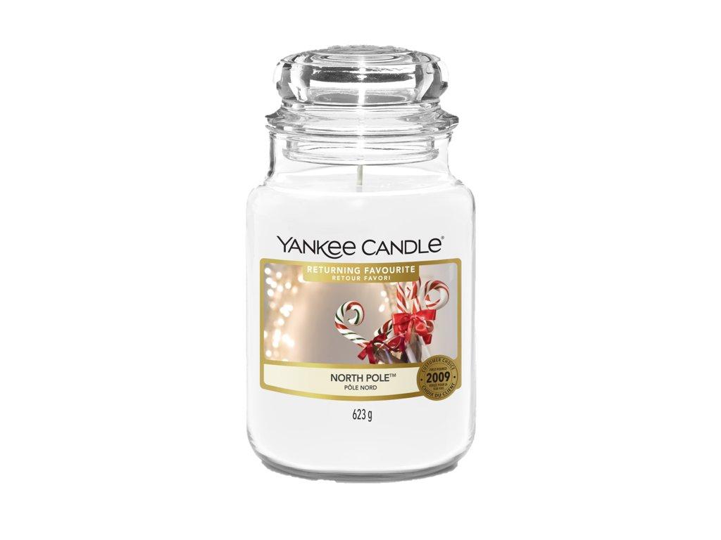 Svíčka Yankee Candle North Pole Severní Pól 623g velká