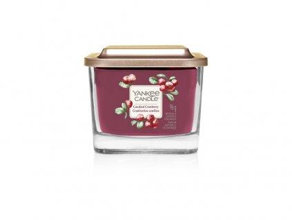 Svíčka Yankee Candle Elevation Candied Cranberry Kandované Brusinky 96g malá