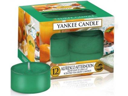 Čajové Svíčky Yankee Candle Alfresco Afternoon Odpolední Piknik 12 ks