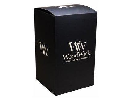 Dárková krabička WoodWick Na velkou svíčku černá