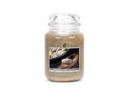 Svíčka Goose Creek Brown Butter Pistachio Hnědé Pistáciové Máslo 680g velká