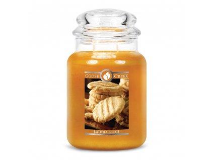 Svíčka Goose Creek Butter Cookie Máslové Sušenky 680g velká