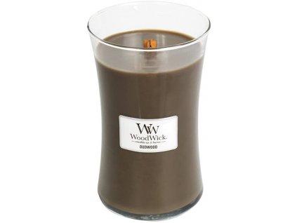 Svíčka WoodWick Oudwood Pryskyřice 609,5g velká