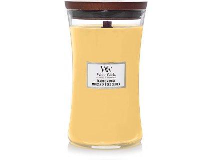 Svíčka WoodWick Seaside Mimosa Koktejl Mimosa 609,5g velká