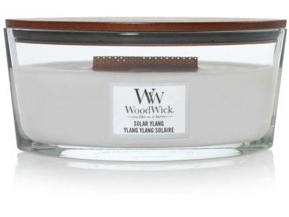 Svíčka WoodWick Solar Ylang Sluneční Ylang 453,6g lodička