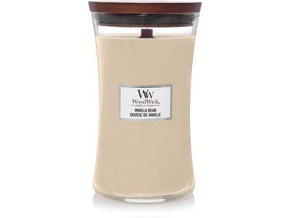 Svíčka WoodWick Vanilla Bean Vanilka 609,5g velká